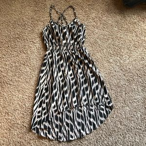5/$25 CHARLIE JADE high low midi dress